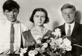 Святослав Рихтер с родителями