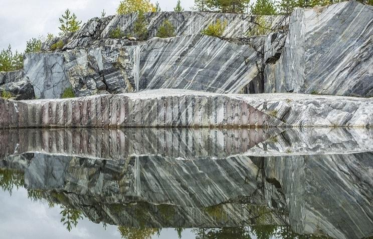 """Горный парк """"Рускеала"""" в Карелии. Фото - Руслан Шамуков/ТАСС"""