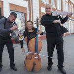 Музыканты Омской филармонии выступили в китайской синагоге