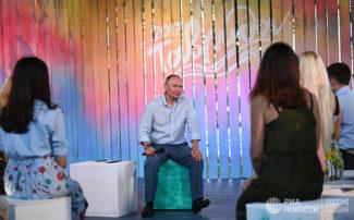 Владимир Путин. Фото - Александр Вильф