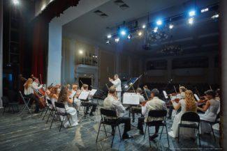 """В Новосибирской филармонии открывается """"Белый фестиваль"""". Фото - Виктор Дмитриев"""