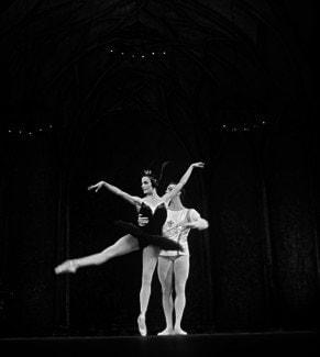 Одиллия - Светлана Адырхаева, Большой театр, 1967 г.