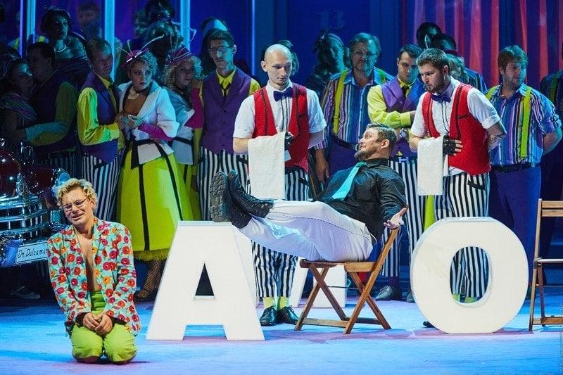 Доницетти «Любовный напиток» в Новосибирском театре
