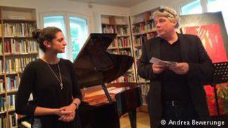 Инициатор фестиваля Schumannfest Маркус Шук на концерте в доме-музее Роберта Шумана в Бонне