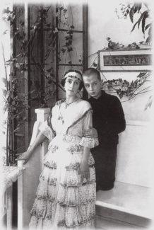 матильда Кшесинская с сыном