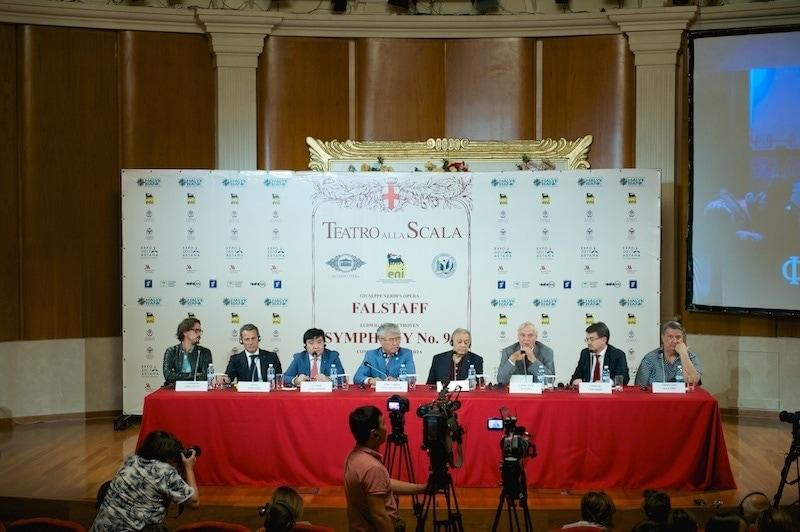 Пресс-конференция, посвященная гастролям театра Ла Скала в Астане