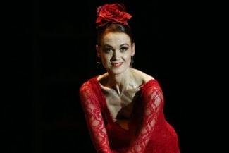 Ульяна Лопаткина. Фото - Станислав Красильников/ТАСС