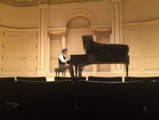 Никита Галактионов в Weill Recital Hall