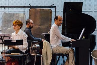 «ПерСимфАнс» и четыре московских хора исполнили кантату «Путь Октября». Фото - «ПерСимфАнс»