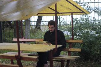 Молодой композитор Даниил Пильчен. Фото - Саша Елина / Международная академия молодых композиторов