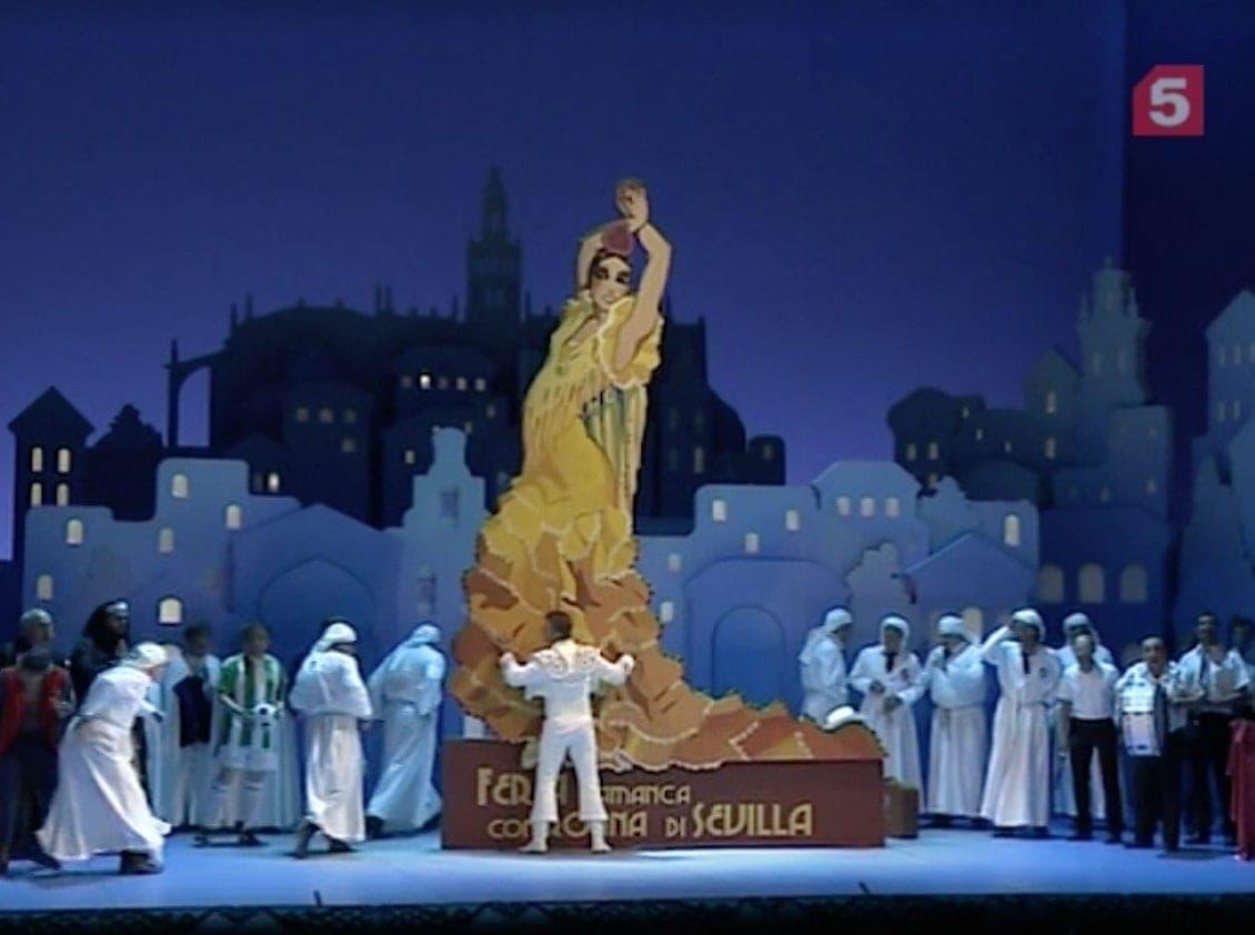 «Севильский цирюльник» в Михайловском театре