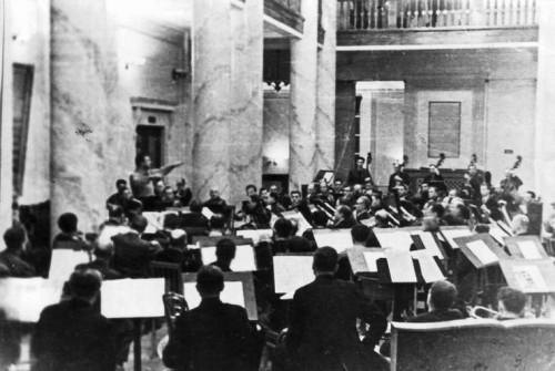 Репетиция 7-й симфонии Шостаковича в Кубышеве