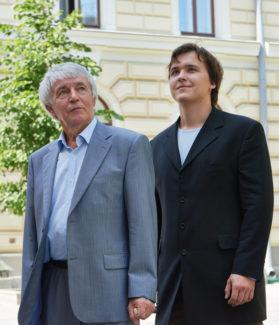 Аркадий Севидов и Никита Галактионов