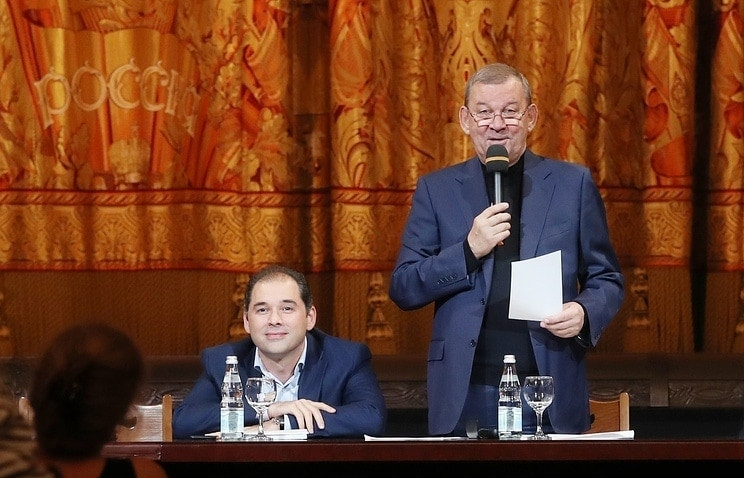 Туган Сохиев и Владимир Урин. Фото - Артём Коротаев