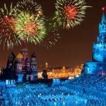 Х Международный военно-музыкальный фестиваль «Спасская башня» проходит на главной площади страны