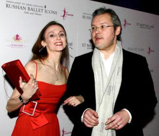 Светлана Захарова и Вадим Репин