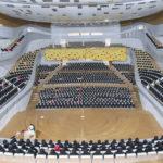 Макет зала Филармонии в Зарядье