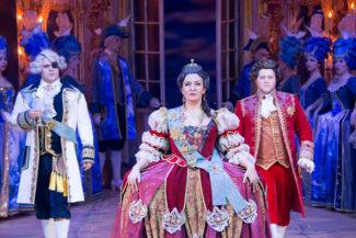 Спектакль «Царица» в «Геликон-опере»