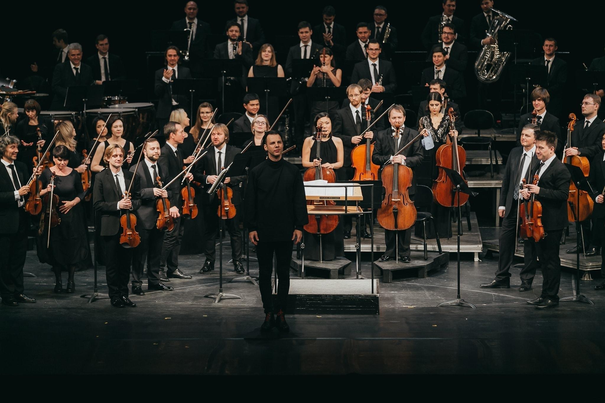 Теодор Курентзис и musicAeterna. Фото - Maris Lazdans