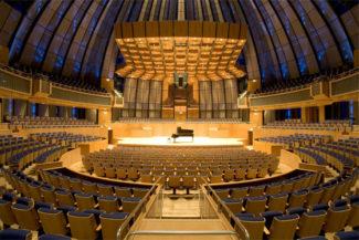 """Концертный зал """"Тонхалле"""" в Дюссельдорфе. Фото - Berthold Litjes"""