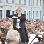 Соло для дирижера с оркестром