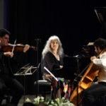 Главным событием прошедшего в Иерусалиме фестиваля камерной музыки стало участие легендарной пианистки Марты Аргерих.
