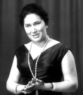 Народная артистка СССР Ирина Архипова