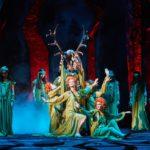 "Сцена из оперы Верди ""Бал-маскарад"" в НОВАТ"
