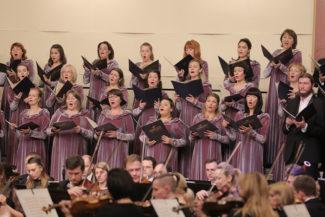 Гаврилинский фестиваль в Вологде открылся выступлением академической капеллы. Фото: Сергей Юров