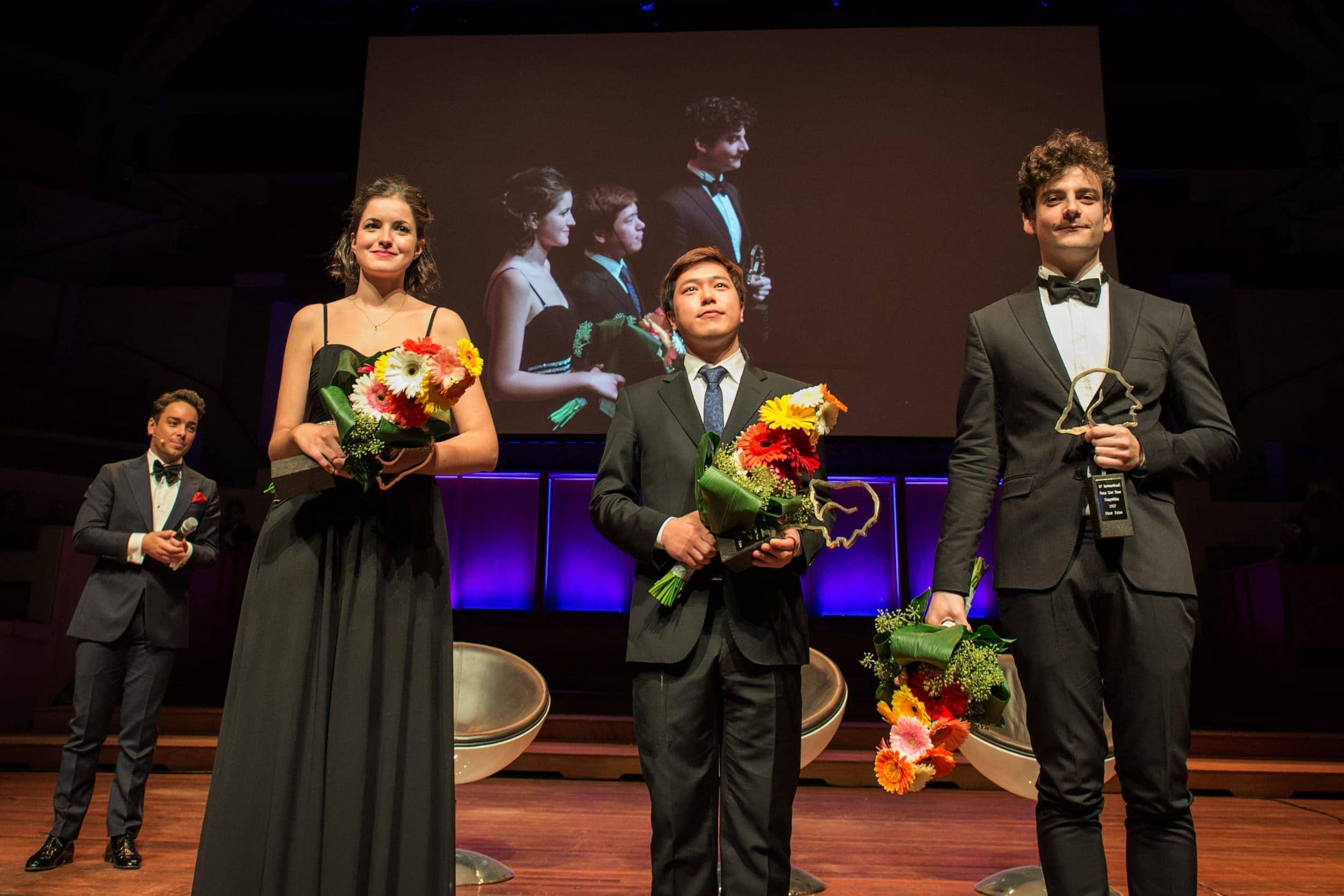Лауреаты 11-го Международного конкурса пианистов им. Листа