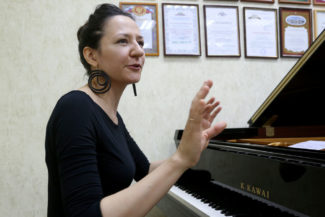 Пианистка Майя Иргалина. Фото: Олег Корякин