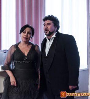 Ирина Долженко и Роман Муравицкий
