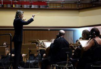 Омский симфонический оркестр сыграет Стравинского в мультимедийных декорациях. Фото - Александр Румянцев