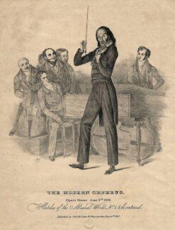 Никколо Паганини. Гравюра Ричарда Джеймса Лейна, 1831 год. Фото - сommons.wikimedia.org