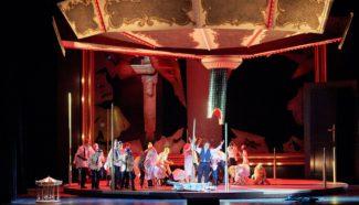 """Игрок"" в Венской опере. Фото - Michael Pöhn/ Wiener Staatsoper GmbH"