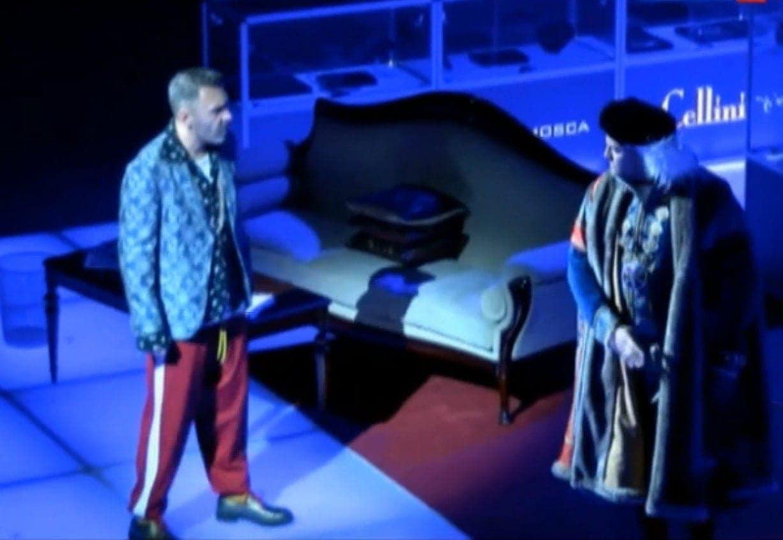 Сергей Шнуров на сцене Мариинского театра