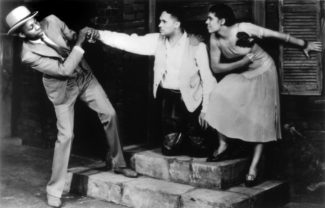 Джон Бабблз, Тодд Данкен и Энн Браун, 1935 г., сцена из «Порги и Бесс»