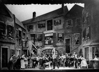 Сцена из спектакля в «Колониальном театре», Бостон, 1935 год