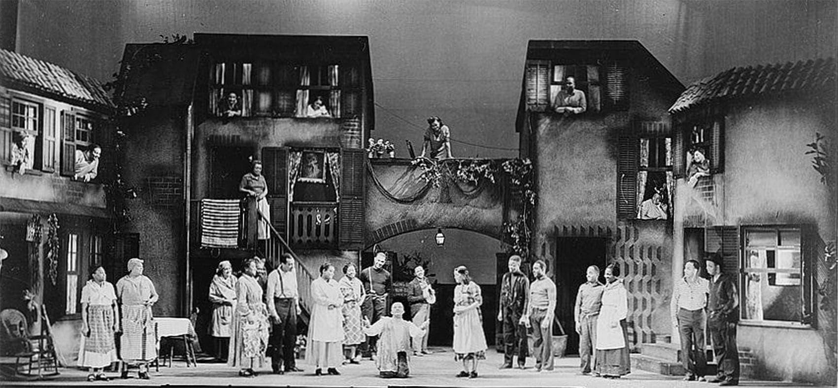 «Порги и Бесс» на Бродвее, 1935 г.