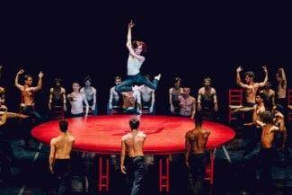 """Национальный балет Марселя представил на фестивале DanceInversion свою версию """"Болеро"""""""