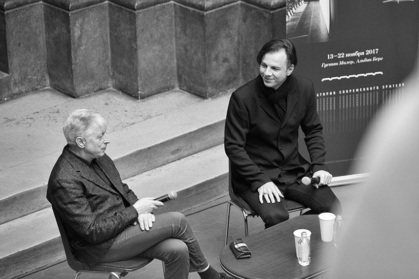 Леонид Десятников и Теодор Курентзис. Фото - Александра Муравьёва