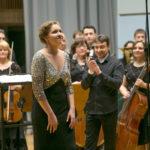 Певица мира Надежда Кучер выступила в Белгосфилармонии