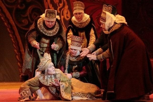Царская невеста в Большом театре, в лицах и датах