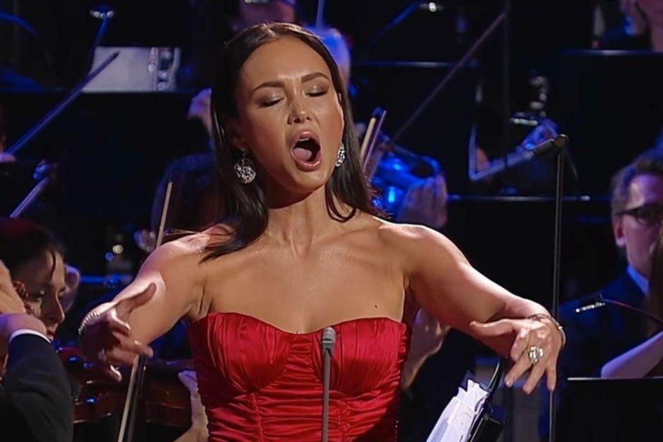 Одним из лауреатов премии стала российская певица Аида Гарифуллина. Фото - ECHO KLASSIK