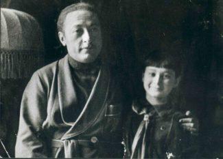 Яша Хейфец и Буся Гольдштейн