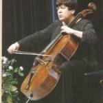 Наталия Гутман в Саратовской филармонии. Фото - Игорь Дзис