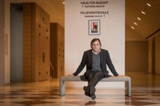 Маркус Хинтерхойзер сочинил новый кураторский шедевр. Фото - Franz Neumayr / Salzburger Festspiele