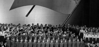 Государственная опера в совсем другие времена: Празднецтва по случаю 50-летия Великой социалистической октябрьской революции, закрытие 1 ноября 1967 года