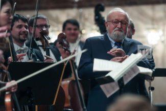 Кшиштоф Пендерецкий открыл VII фестиваль современной музыки им. С. Губайдулиной. Фото: Рамиль Гали