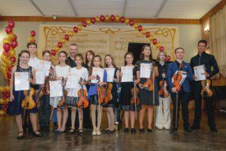 Александр Тростянский и Наталья Ардашева с участниками летних мастер-классов